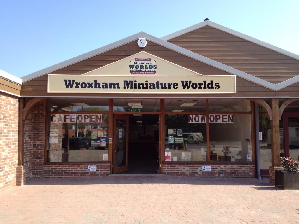 wroxham miniature worlds cafe