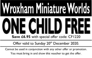 Click here for your one child free voucher